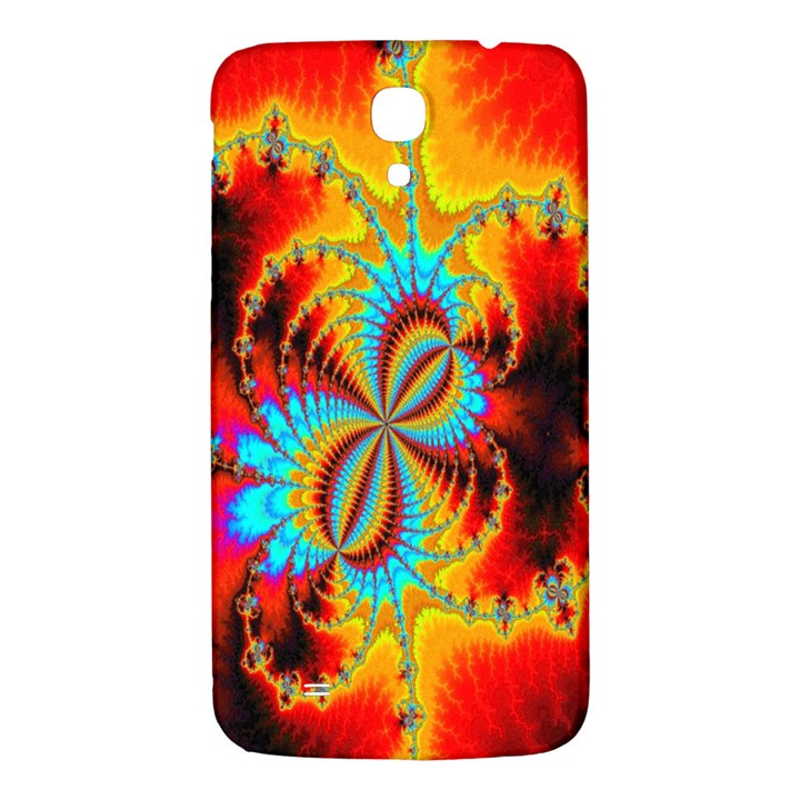 Crazy Mandelbrot Fractal Red Yellow Turquoise Samsung Galaxy Mega I9200 Hardshell Back Case