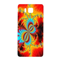 Crazy Mandelbrot Fractal Red Yellow Turquoise Samsung Galaxy Alpha Hardshell Back Case