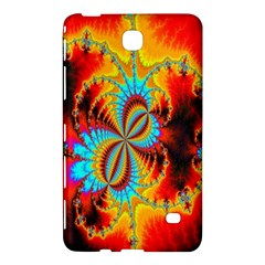 Crazy Mandelbrot Fractal Red Yellow Turquoise Samsung Galaxy Tab 4 (7 ) Hardshell Case