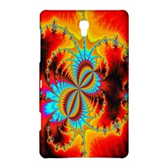 Crazy Mandelbrot Fractal Red Yellow Turquoise Samsung Galaxy Tab S (8 4 ) Hardshell Case