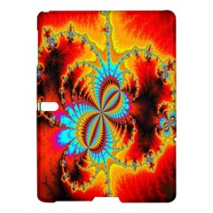 Crazy Mandelbrot Fractal Red Yellow Turquoise Samsung Galaxy Tab S (10 5 ) Hardshell Case