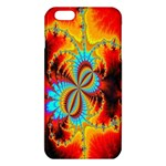 Crazy Mandelbrot Fractal Red Yellow Turquoise iPhone 6 Plus/6S Plus TPU Case Front