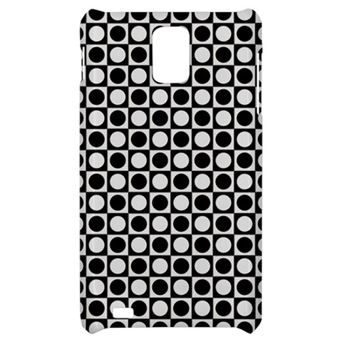 Modern Dots In Squares Mosaic Black White Samsung Infuse 4G Hardshell Case