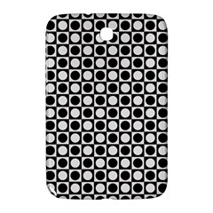 Modern Dots In Squares Mosaic Black White Samsung Galaxy Note 8 0 N5100 Hardshell Case