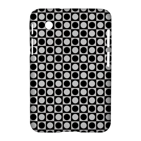 Modern Dots In Squares Mosaic Black White Samsung Galaxy Tab 2 (7 ) P3100 Hardshell Case