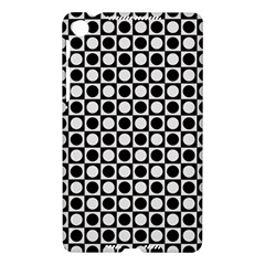 Modern Dots In Squares Mosaic Black White Nexus 7 (2013)