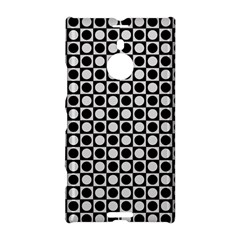 Modern Dots In Squares Mosaic Black White Nokia Lumia 1520