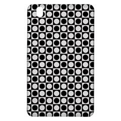 Modern Dots In Squares Mosaic Black White Samsung Galaxy Tab Pro 8 4 Hardshell Case
