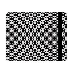 Modern Dots In Squares Mosaic Black White Samsung Galaxy Tab Pro 8.4  Flip Case
