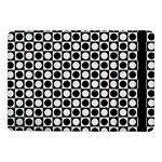 Modern Dots In Squares Mosaic Black White Samsung Galaxy Tab Pro 10.1  Flip Case Front