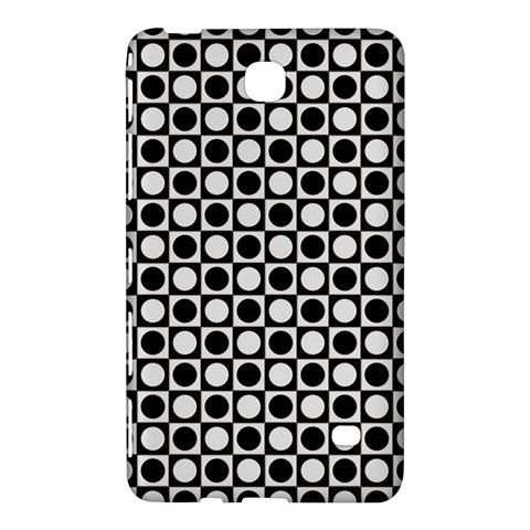 Modern Dots In Squares Mosaic Black White Samsung Galaxy Tab 4 (8 ) Hardshell Case