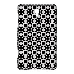 Modern Dots In Squares Mosaic Black White Samsung Galaxy Tab S (8 4 ) Hardshell Case