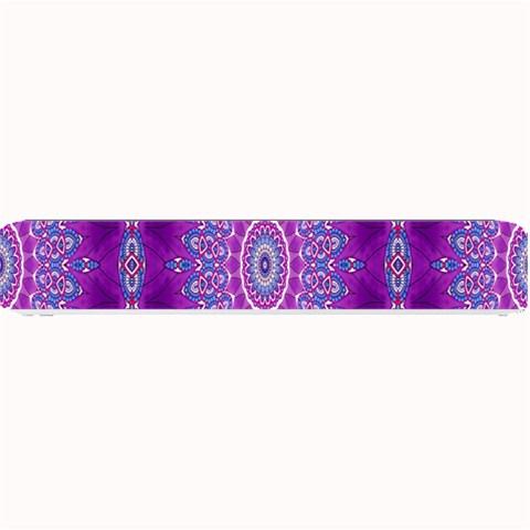 India Ornaments Mandala Pillar Blue Violet Small Bar Mats