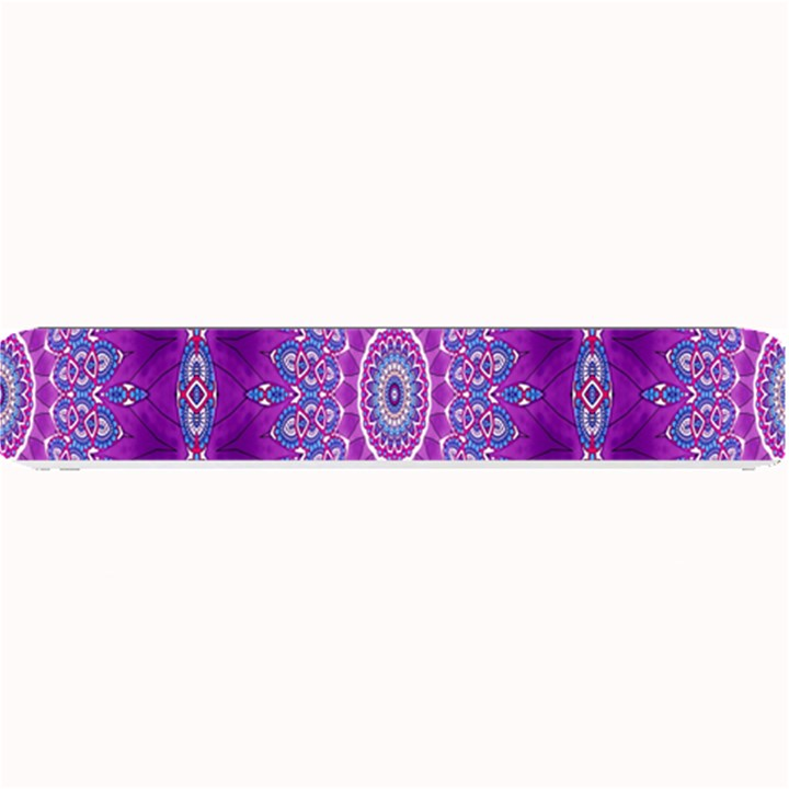 India Ornaments Mandala Pillar Blue Violet Small Bar Mats