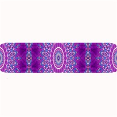 India Ornaments Mandala Pillar Blue Violet Large Bar Mats