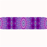 India Ornaments Mandala Pillar Blue Violet Large Bar Mats 34 x9.03 Bar Mat - 1