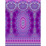 India Ornaments Mandala Pillar Blue Violet Large Memo Pads 4.125 x5.5  Memopad