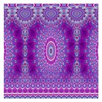 India Ornaments Mandala Pillar Blue Violet Small Memo Pads 3.75 x3.75  Memopad