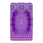 India Ornaments Mandala Pillar Blue Violet Memory Card Reader Front