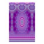 India Ornaments Mandala Pillar Blue Violet Shower Curtain 48  x 72  (Small)  42.18 x64.8 Curtain