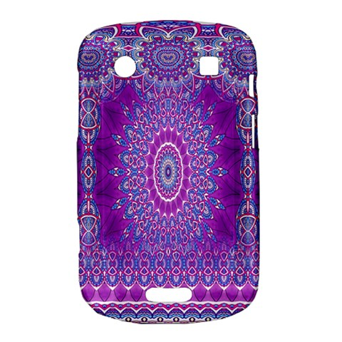 India Ornaments Mandala Pillar Blue Violet Bold Touch 9900 9930