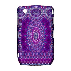India Ornaments Mandala Pillar Blue Violet Curve 8520 9300