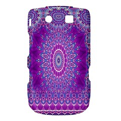 India Ornaments Mandala Pillar Blue Violet Torch 9800 9810