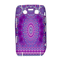 India Ornaments Mandala Pillar Blue Violet Bold 9700