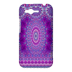 India Ornaments Mandala Pillar Blue Violet HTC Rhyme