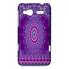 India Ornaments Mandala Pillar Blue Violet HTC Radar Hardshell Case