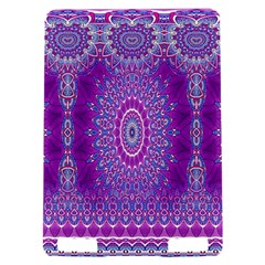 India Ornaments Mandala Pillar Blue Violet Kindle Touch 3G