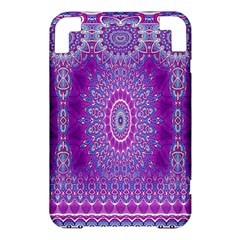 India Ornaments Mandala Pillar Blue Violet Kindle 3 Keyboard 3G
