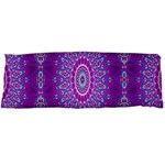 India Ornaments Mandala Pillar Blue Violet Body Pillow Case (Dakimakura) Body Pillow Case