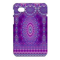 India Ornaments Mandala Pillar Blue Violet Samsung Galaxy Tab 7  P1000 Hardshell Case