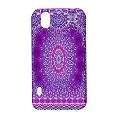 India Ornaments Mandala Pillar Blue Violet LG Optimus P970