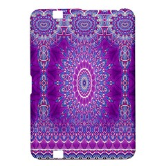India Ornaments Mandala Pillar Blue Violet Kindle Fire HD 8.9
