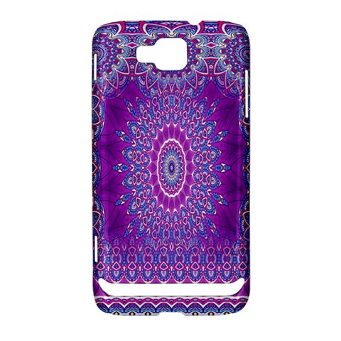 India Ornaments Mandala Pillar Blue Violet Samsung Ativ S i8750 Hardshell Case