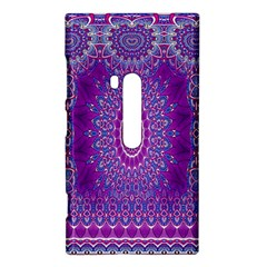 India Ornaments Mandala Pillar Blue Violet Nokia Lumia 920