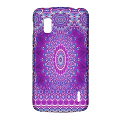 India Ornaments Mandala Pillar Blue Violet LG Nexus 4