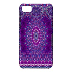 India Ornaments Mandala Pillar Blue Violet BlackBerry Z10