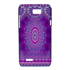 India Ornaments Mandala Pillar Blue Violet Motorola XT788
