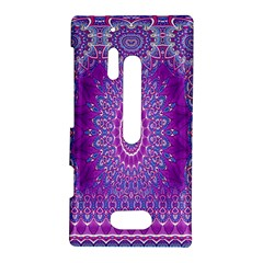 India Ornaments Mandala Pillar Blue Violet Nokia Lumia 928