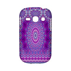 India Ornaments Mandala Pillar Blue Violet Samsung Galaxy S6810 Hardshell Case