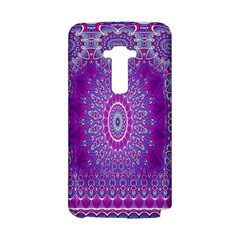 India Ornaments Mandala Pillar Blue Violet LG G Flex