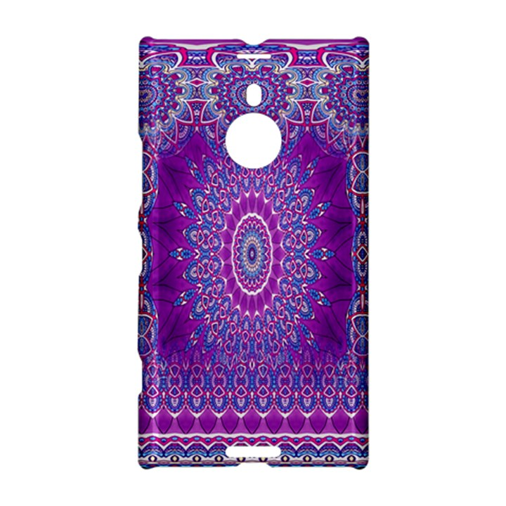 India Ornaments Mandala Pillar Blue Violet Nokia Lumia 1520