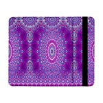 India Ornaments Mandala Pillar Blue Violet Samsung Galaxy Tab Pro 8.4  Flip Case Front