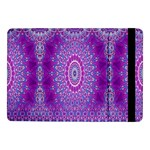 India Ornaments Mandala Pillar Blue Violet Samsung Galaxy Tab Pro 10.1  Flip Case Front