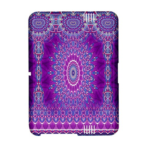 India Ornaments Mandala Pillar Blue Violet Amazon Kindle Fire (2012) Hardshell Case