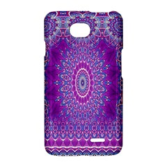 India Ornaments Mandala Pillar Blue Violet LG Optimus L70