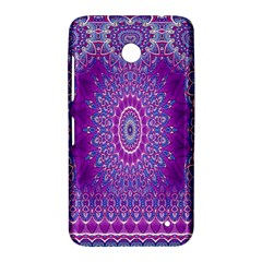 India Ornaments Mandala Pillar Blue Violet Nokia Lumia 630